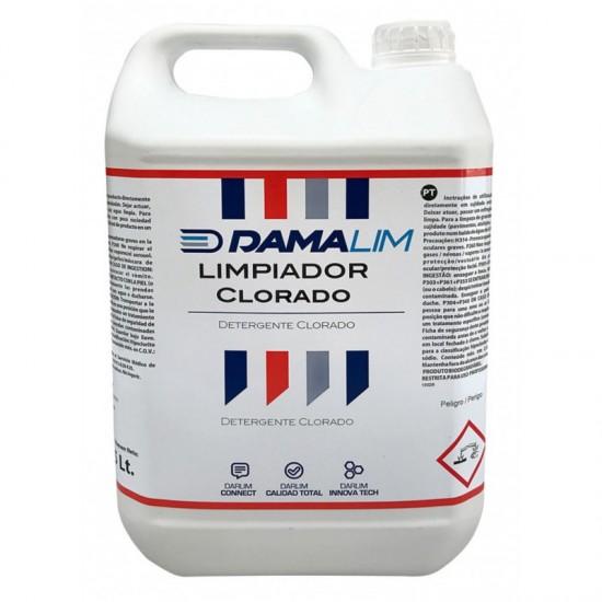 DAMALIM LIMPIADOR CLORADO 5L (CAJA 4 GARRAFAS)
